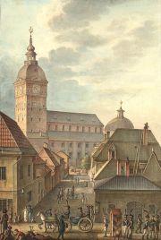Åbo domkyrka 1814 av Johan Carl Ludwig Engel