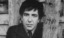 Leonard Cohen, young 2