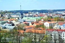 2a Gediminos - Utsikt över staden och TV-tornet