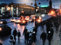 St Petersburg 2013-01-23 (webcam kl 15)
