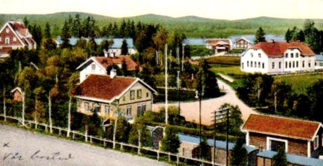 Marmaverken-Myssje station 1910