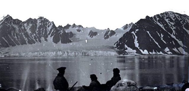 Spetsbergen 1873 (foto Axel Envall)