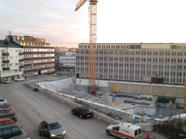 Vintergatan, Sundbyberg 2015-01-05