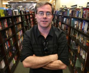 Andy Weir of Mountain View, is author of the science fiction novel,