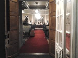 Sandarne kyrka entren 2014-10-12