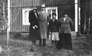 1932 Edenströmskan, Henning Axelsson, Britt, Moa (Anna Kullander)