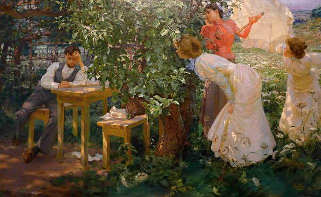 The book lover by Kupka